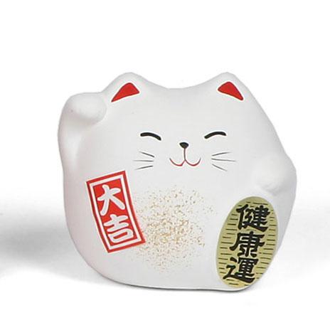 Feng shui cat (white)