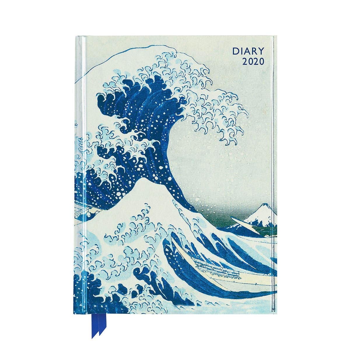 Fuji Wave 2020 Desk Diary