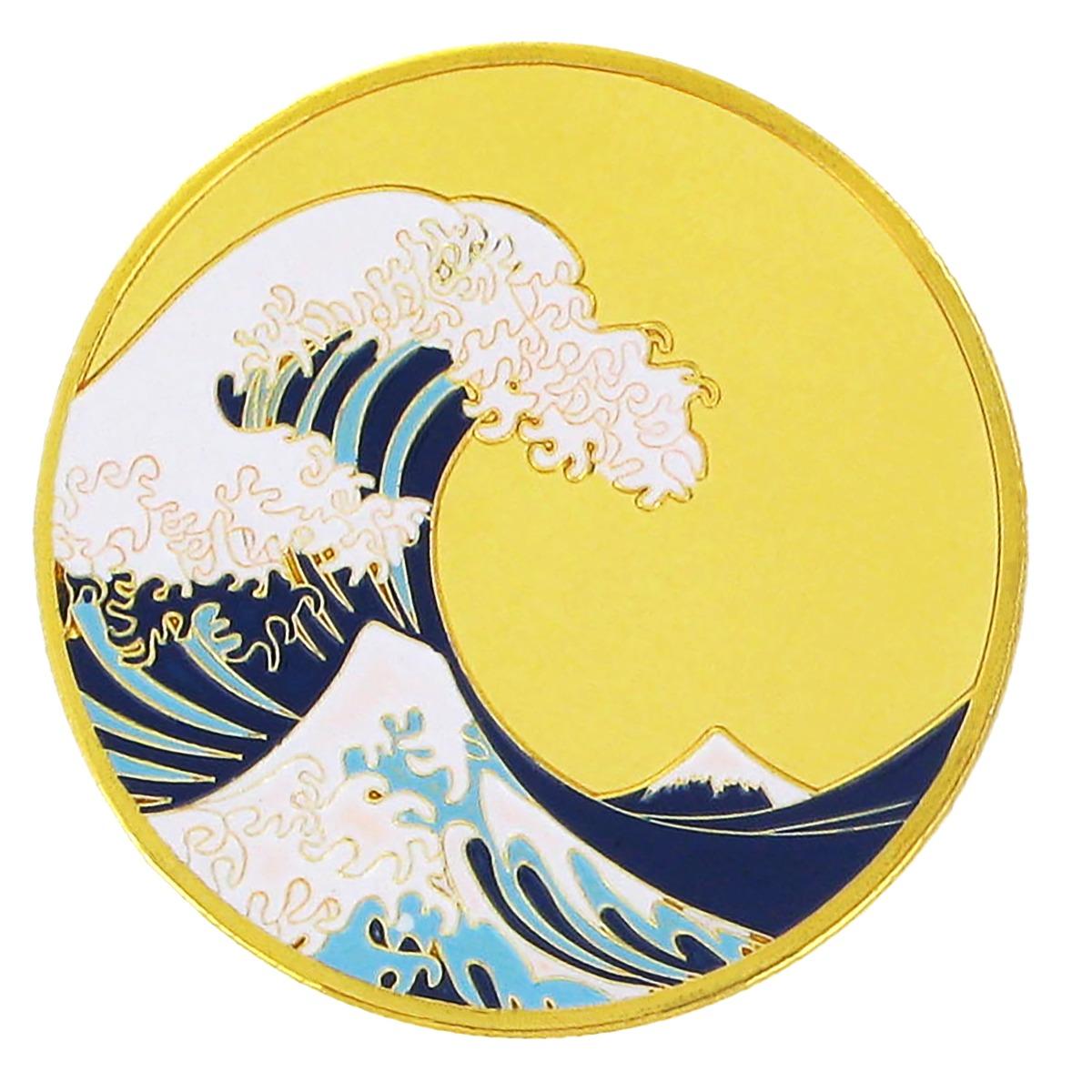 Fuji Wave souvenir coin