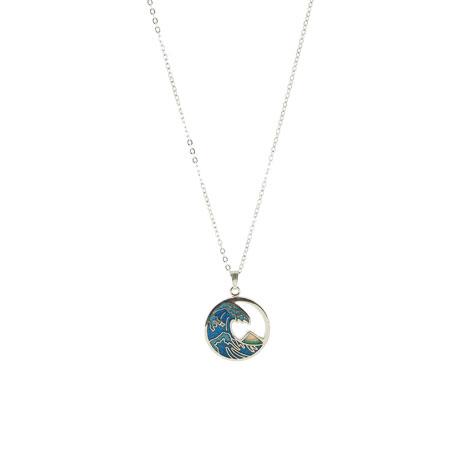 Fuji Wave necklace