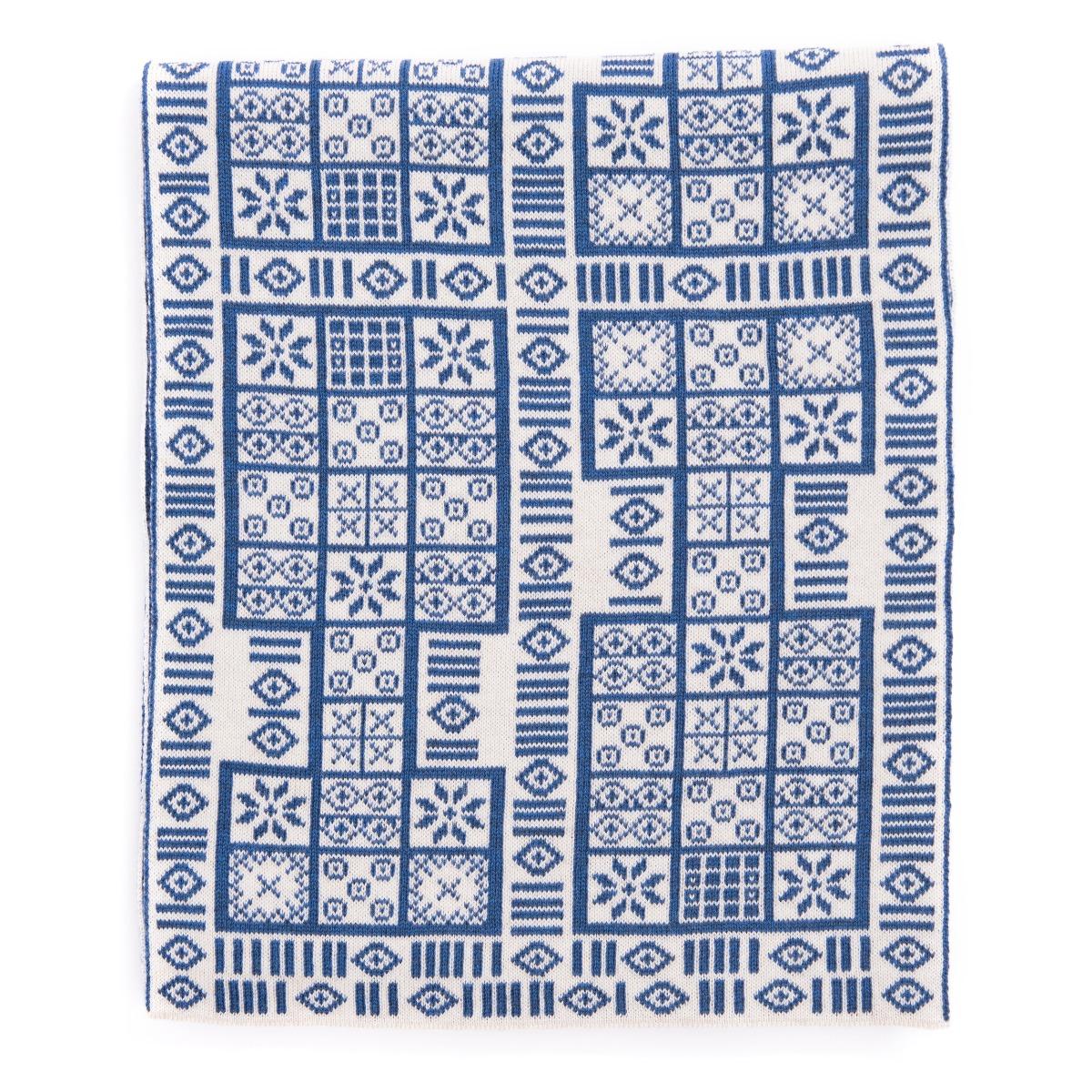 Game of Ur scarf (blue)