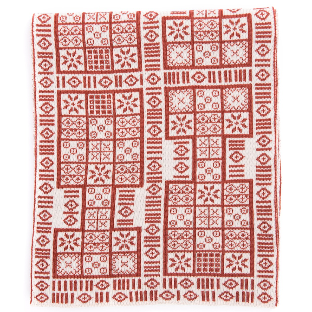 Game of Ur scarf (red)