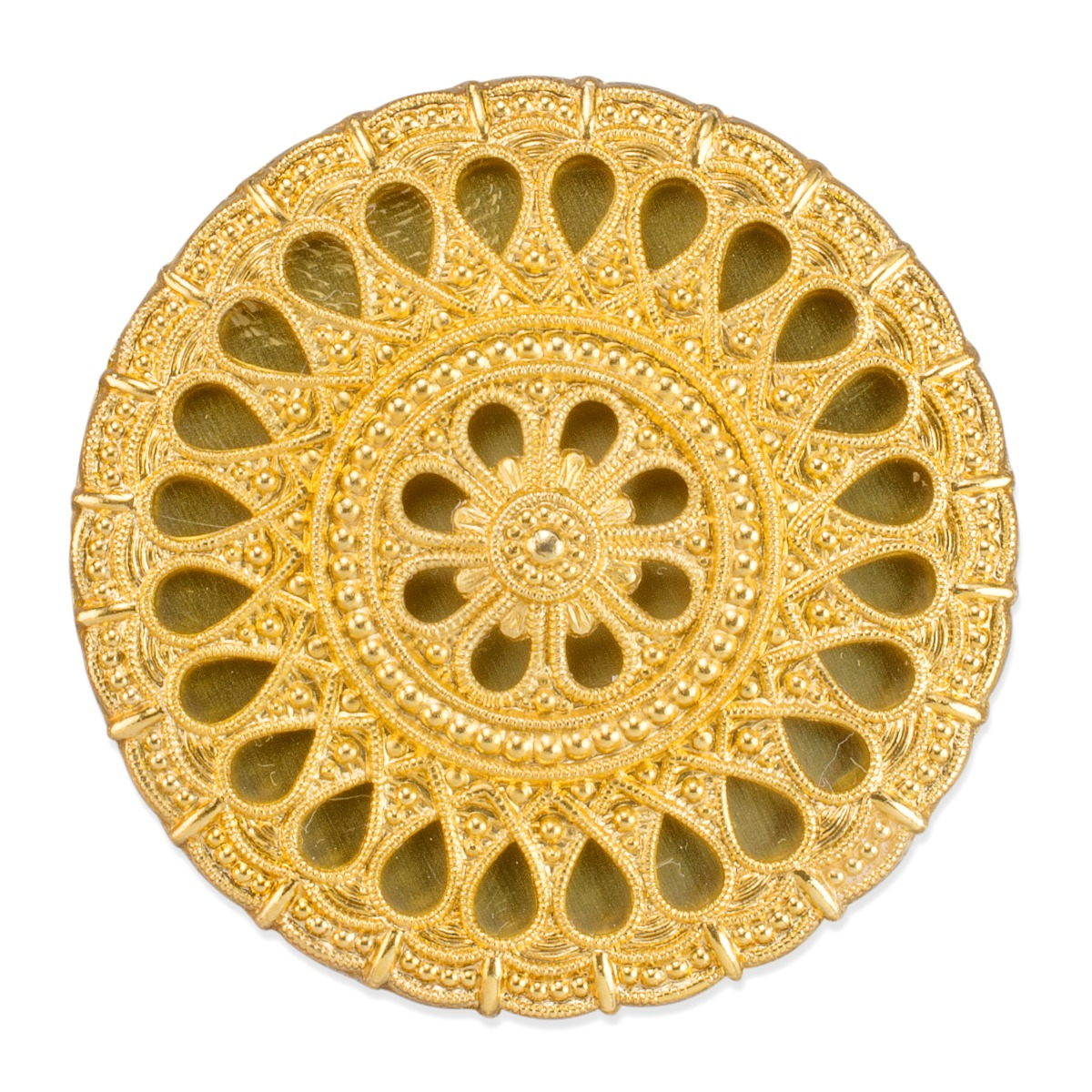 Assyrian gold brooch