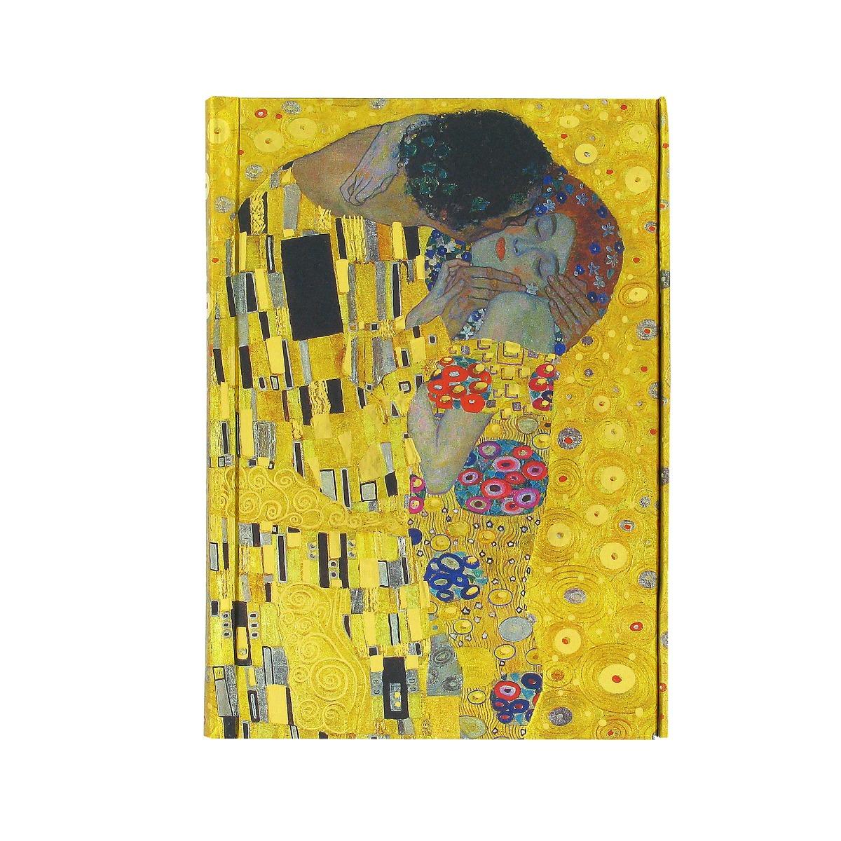 Gustav Klimt, The Kiss  notebook (small)