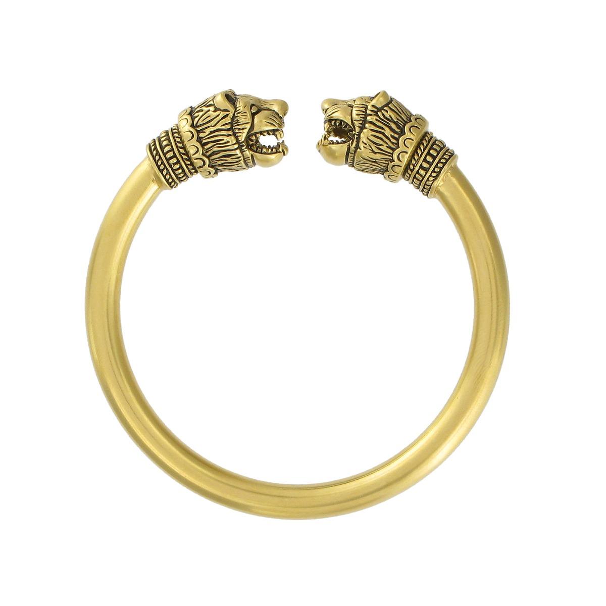 Lion head's bracelet