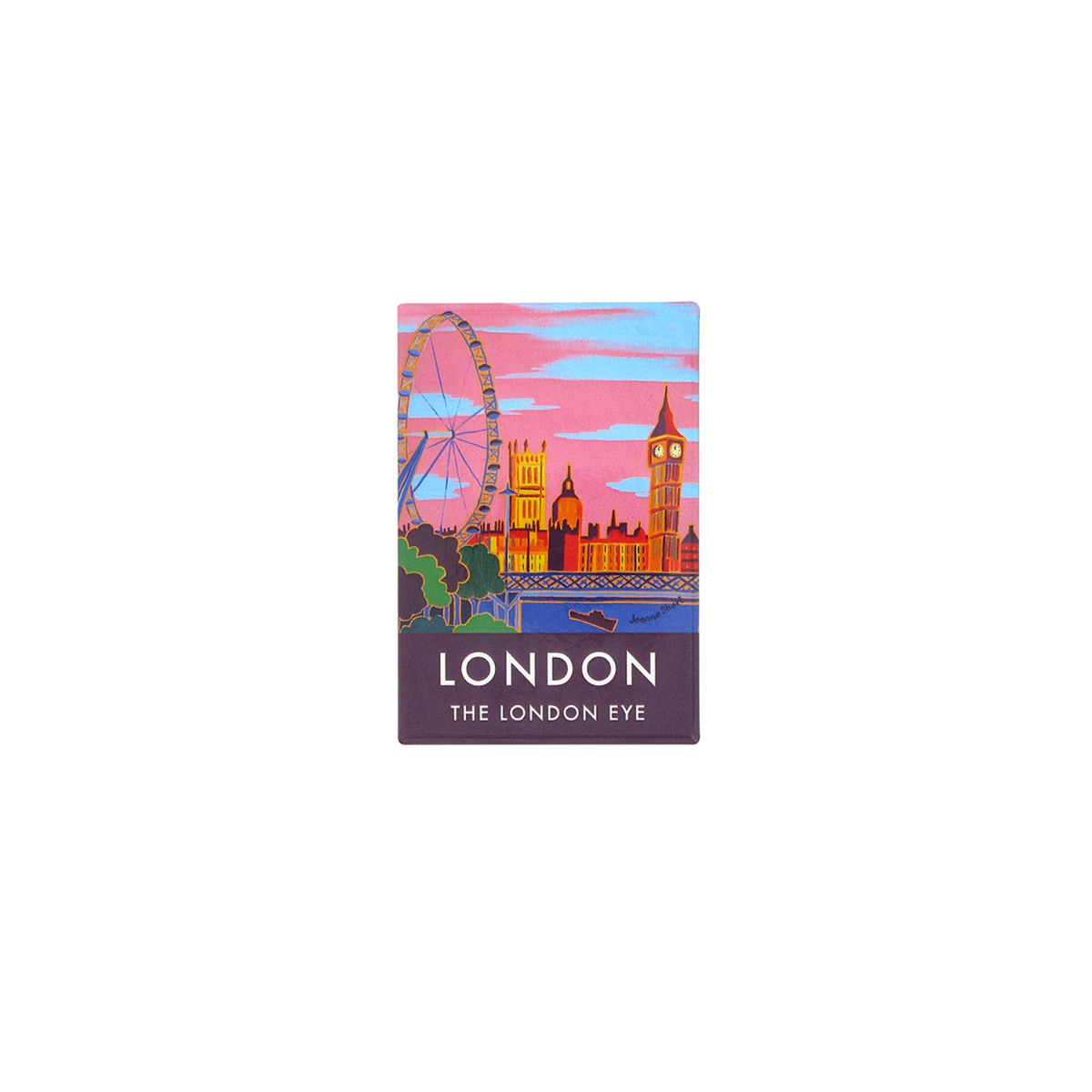 London eye poster magnet