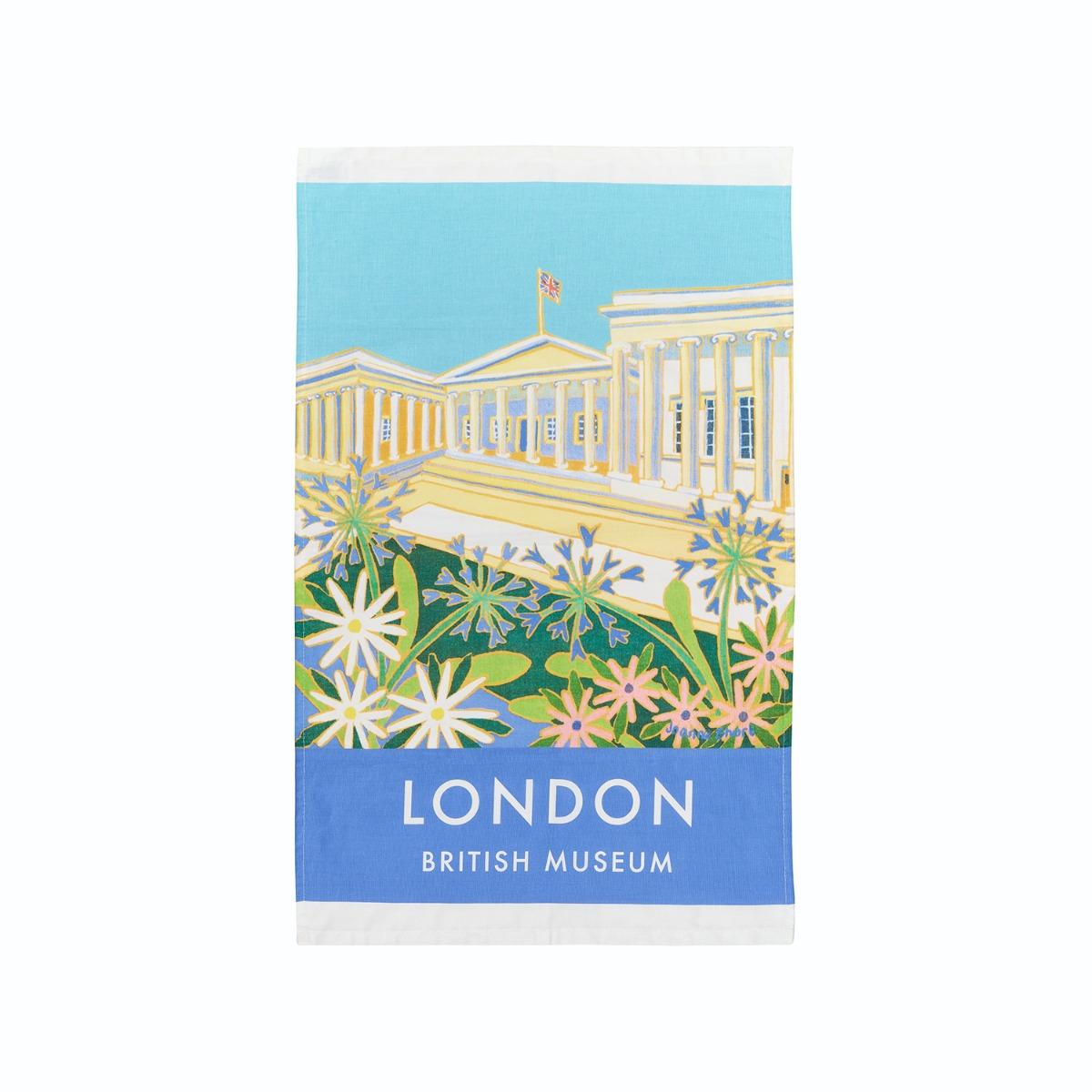 London Poster tea towel (pack of 2)