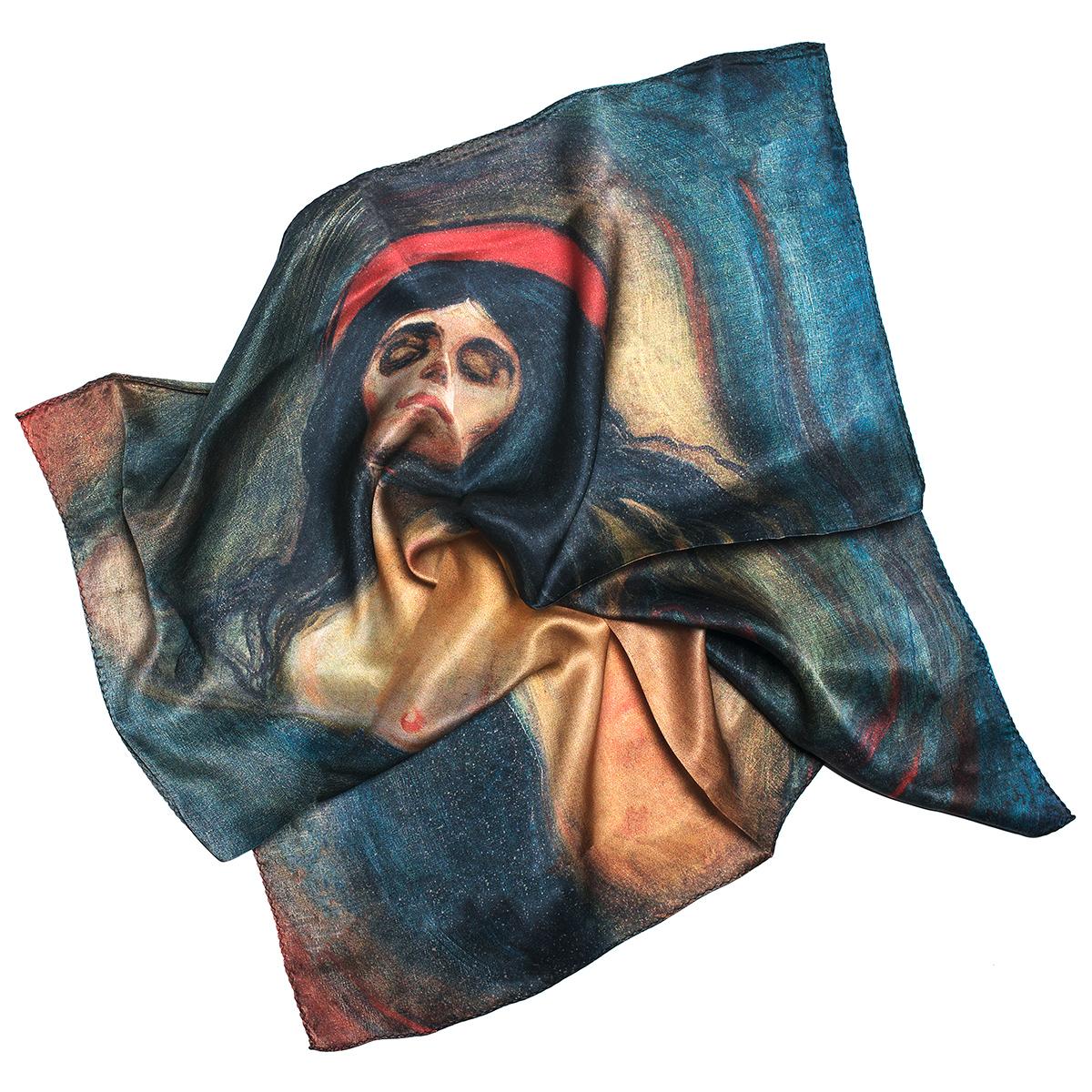 Madonna silk scarf