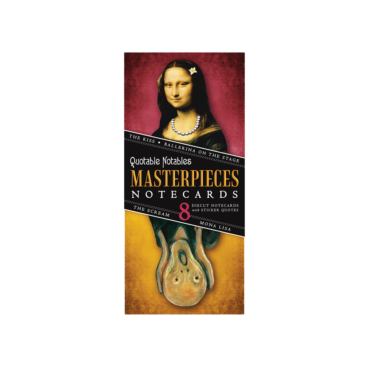 Masterpieces notecard (pack of 8)