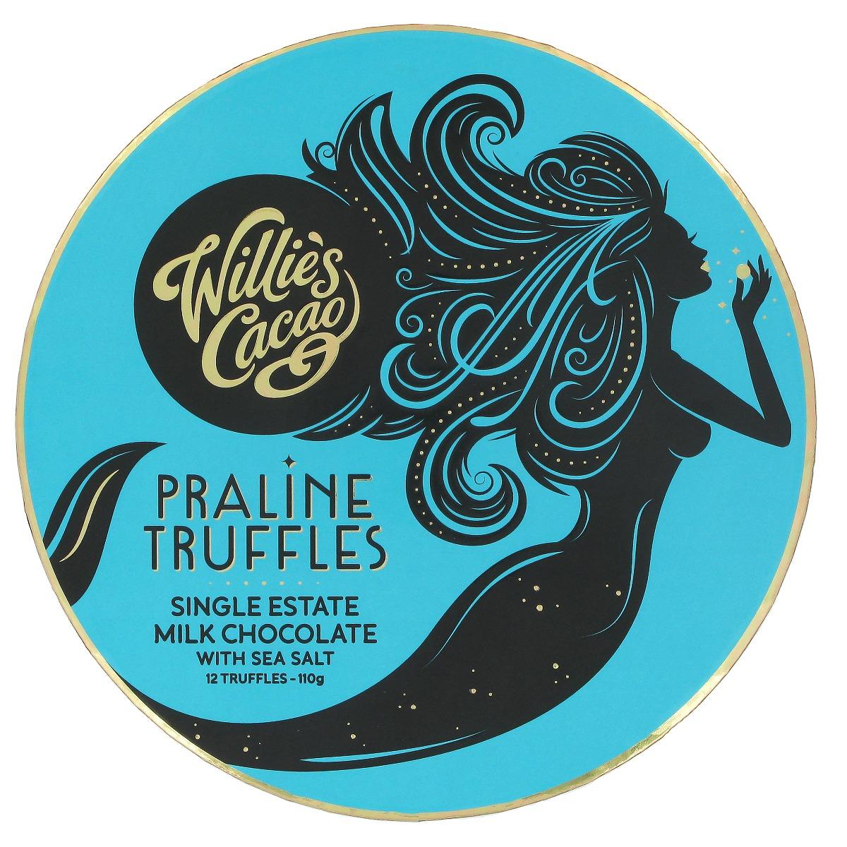 Milk chocolate Praline truffles