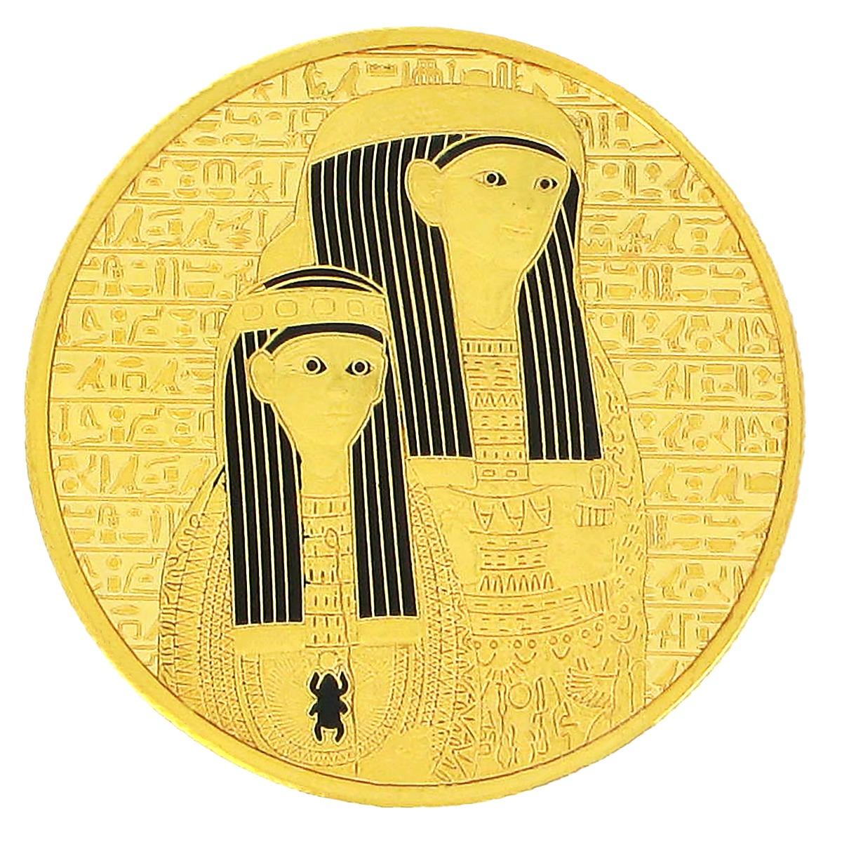 Mummy souvenir coin