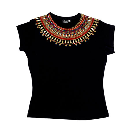 Egyptian Necklace skinny t-shirt