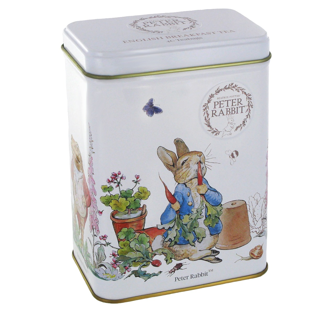 Peter Rabbit tea caddy (English Breakfast)