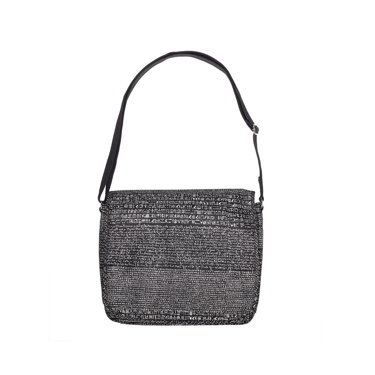Rosetta Stone messenger bag
