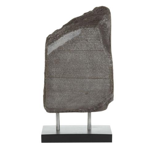 Rosetta Stone Sculpture