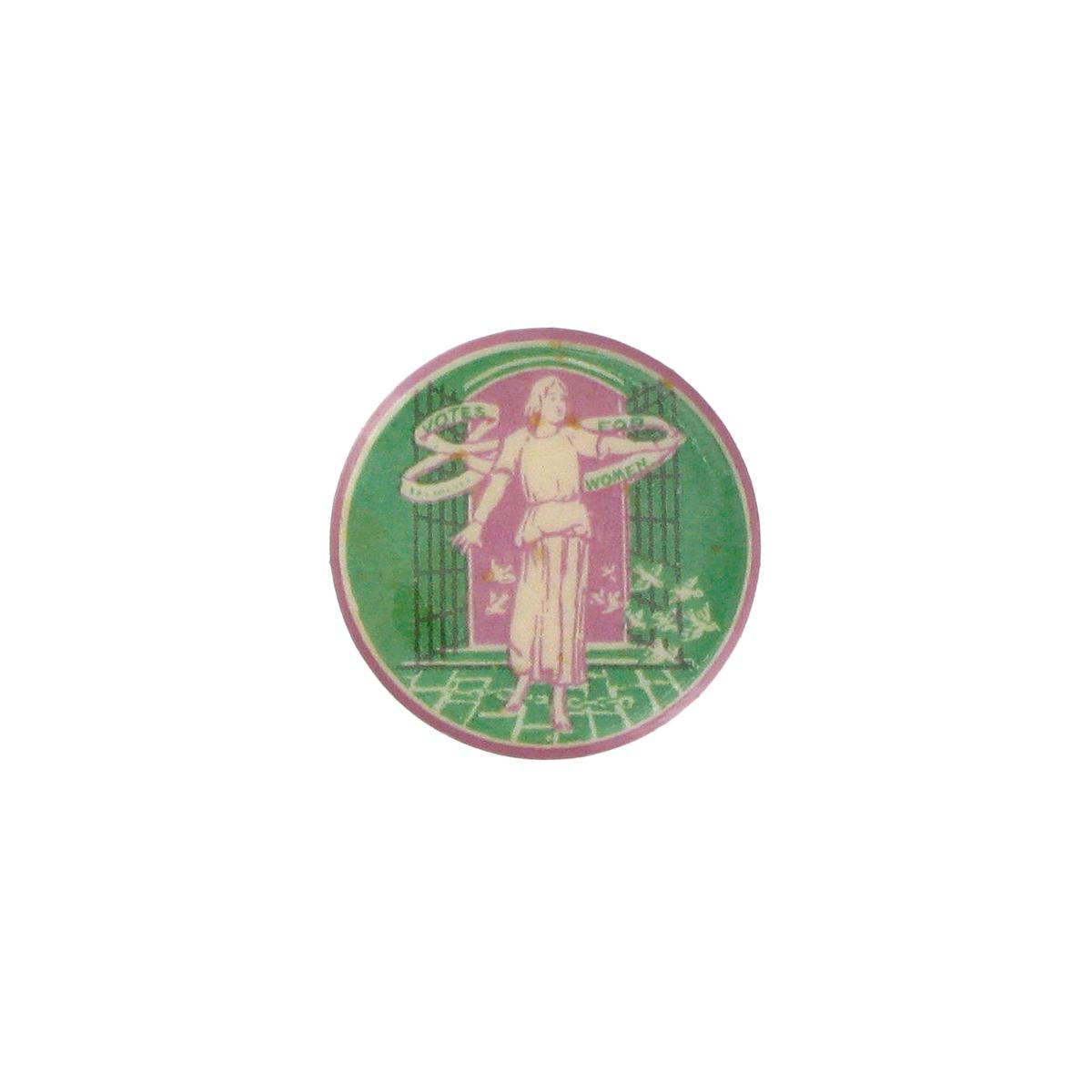 Sylvia Pankhurst pin badge