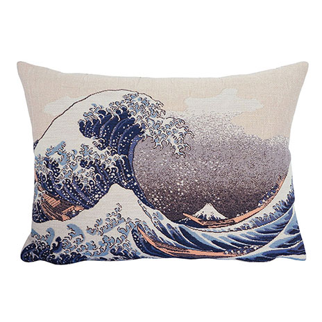 Fuji Wave cushion cover