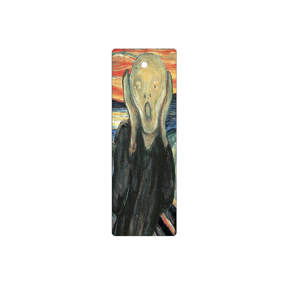 The Scream lenticular bookmark