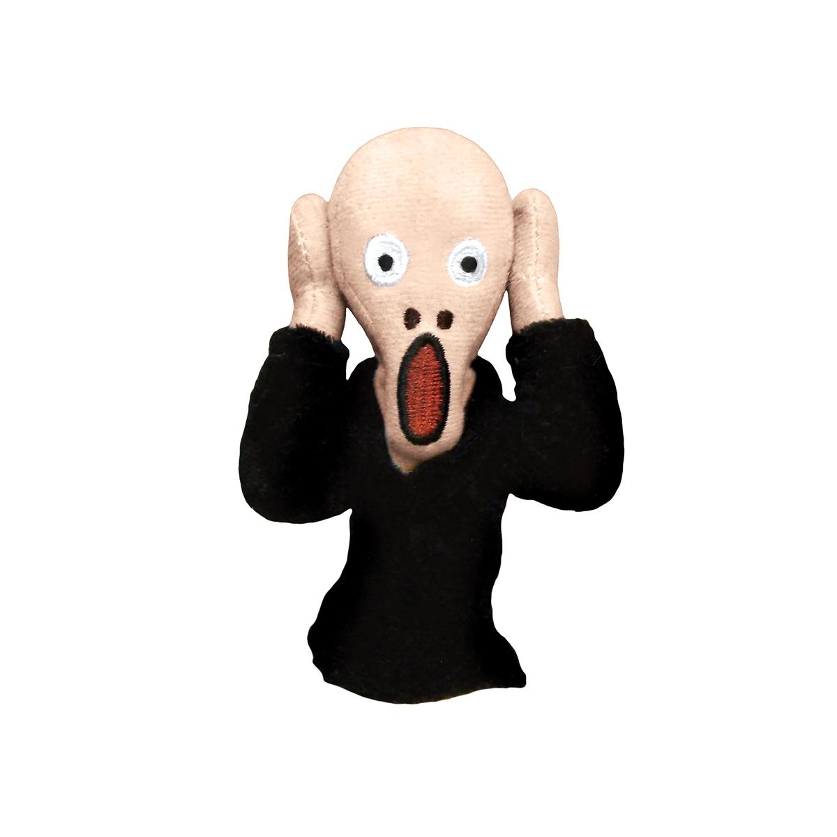 The Scream magnetic finger puppet