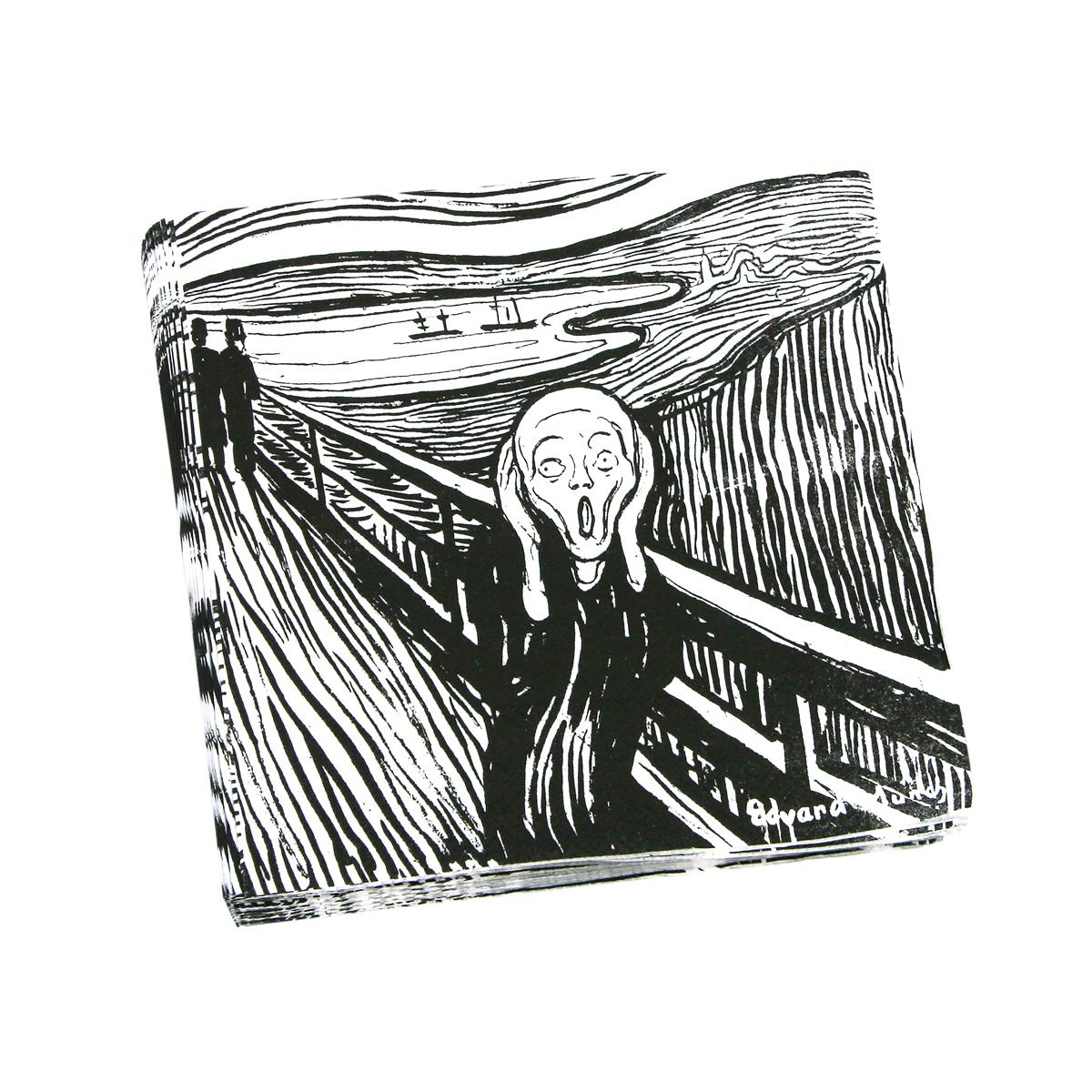 The Scream napkins
