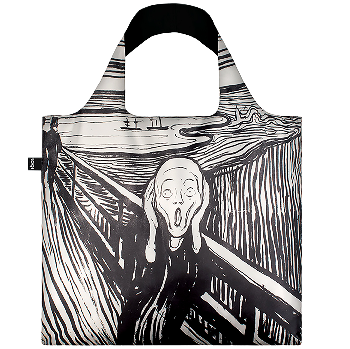 The Scream packable bag