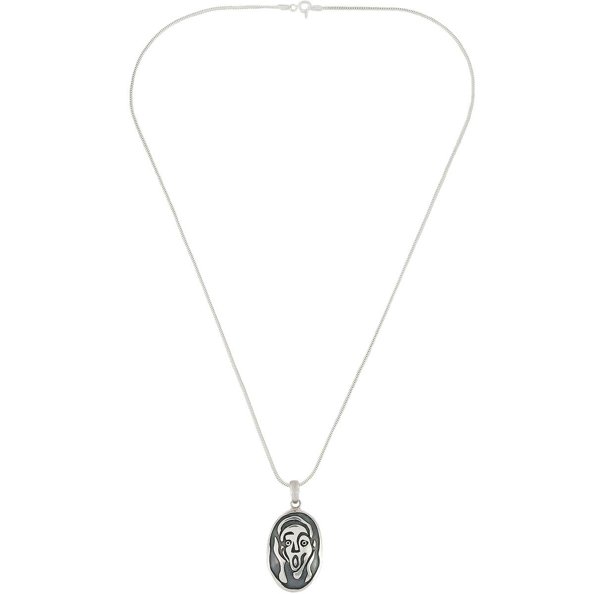 The Scream Pendant Necklace