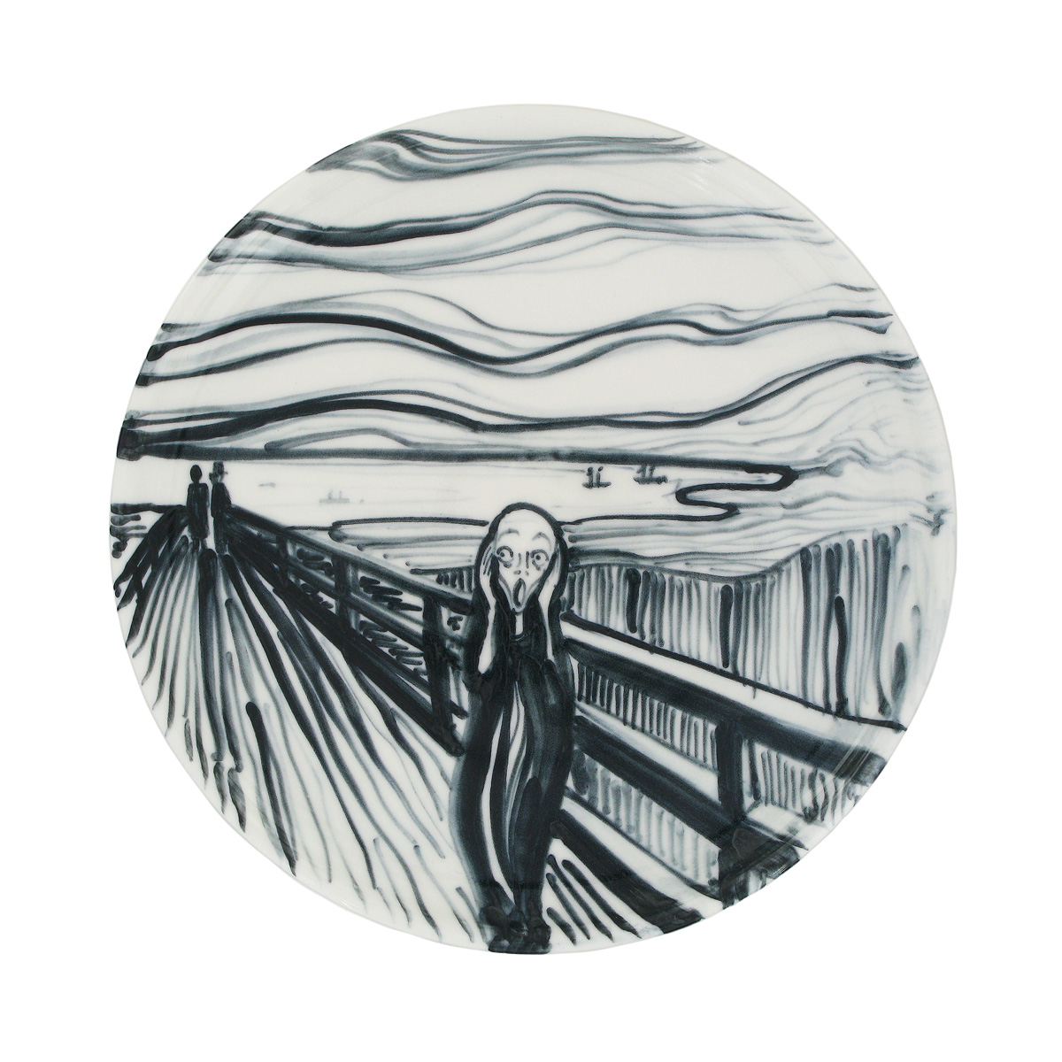 The Scream Plate