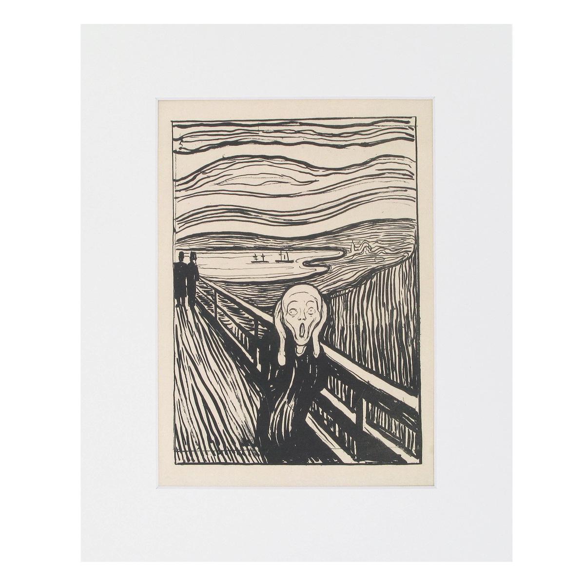The Scream Print
