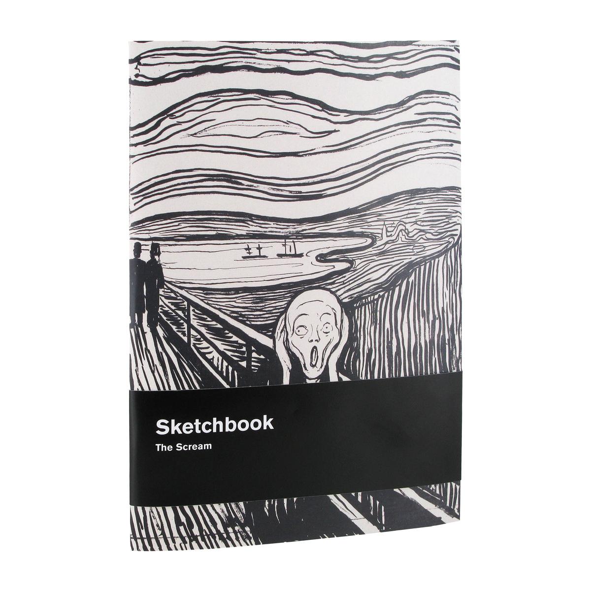 The Scream sketchbook