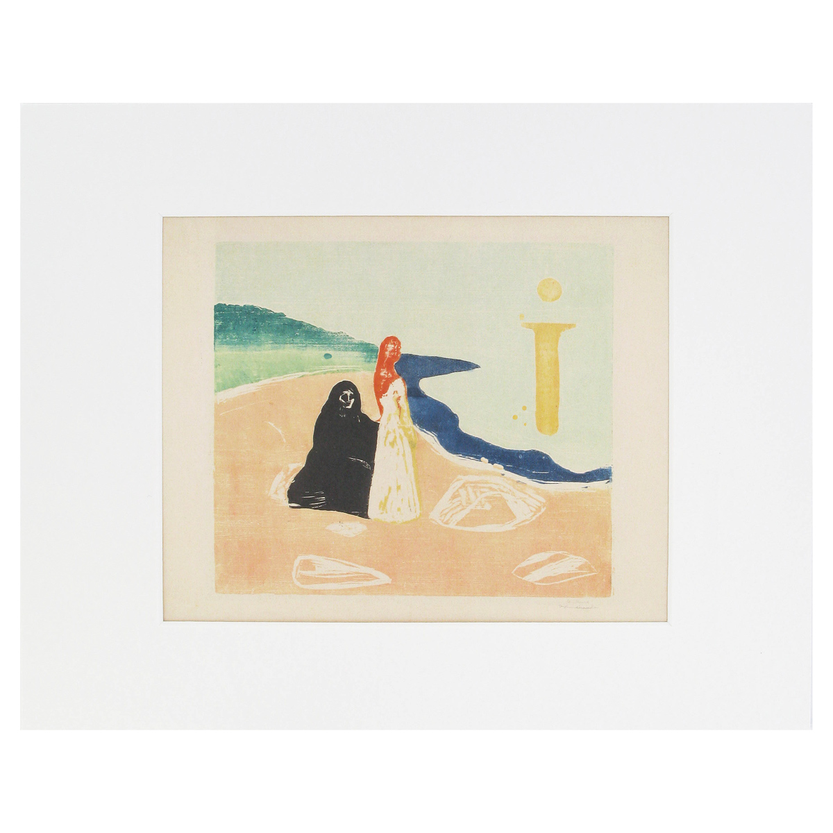 Two Women on the Shore print