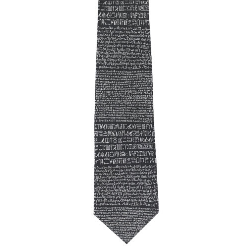 Rosetta Stone tie