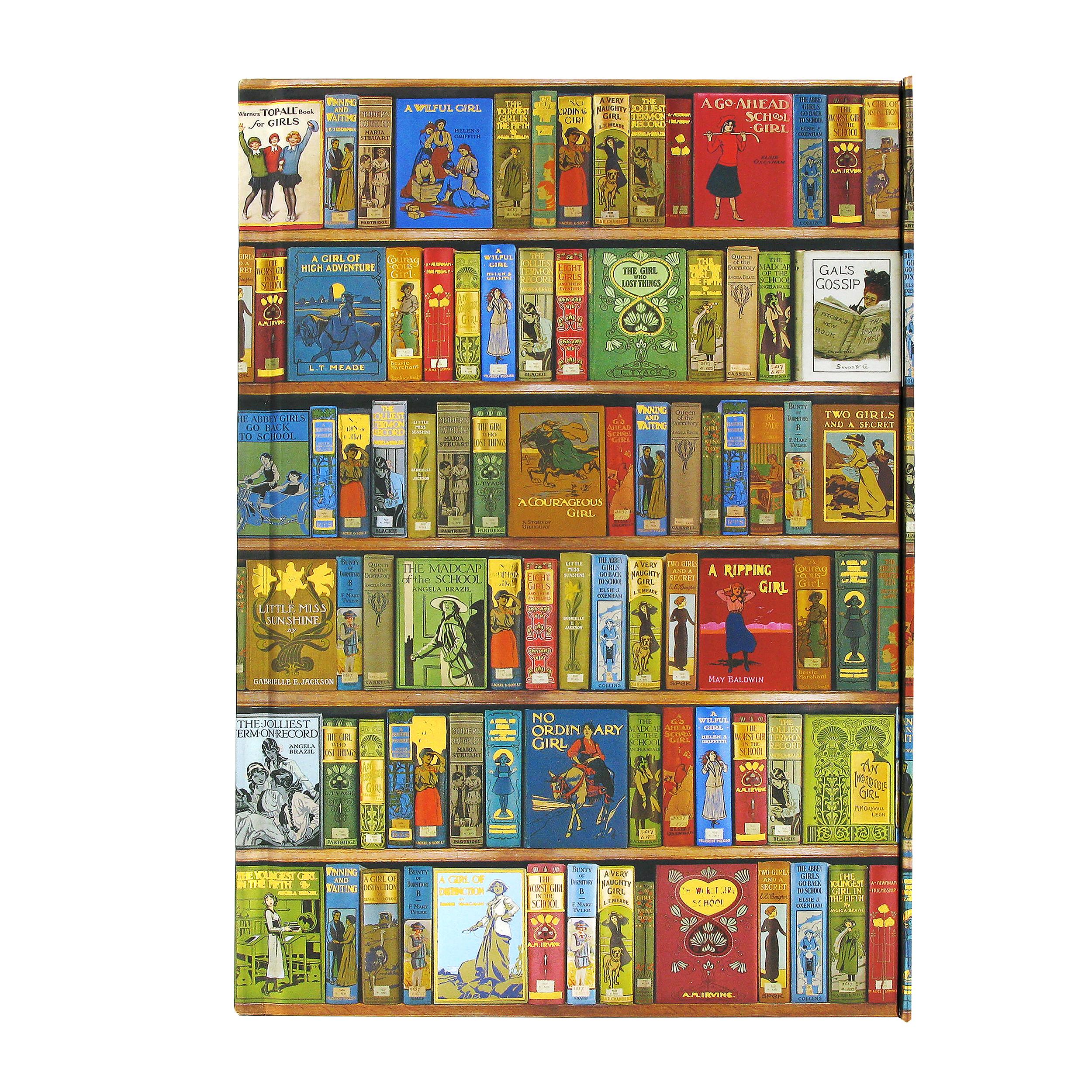 Aimee Stewart Museum bookshelves notebook