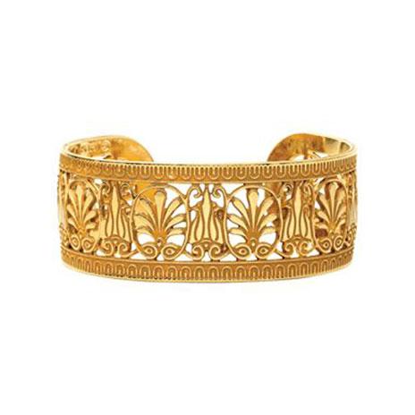 Greek Palmette bracelet