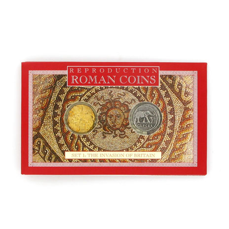 Roman Britain coin set
