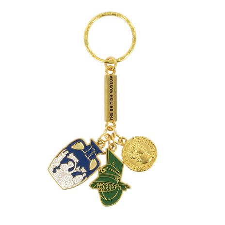 Roman charms keyring