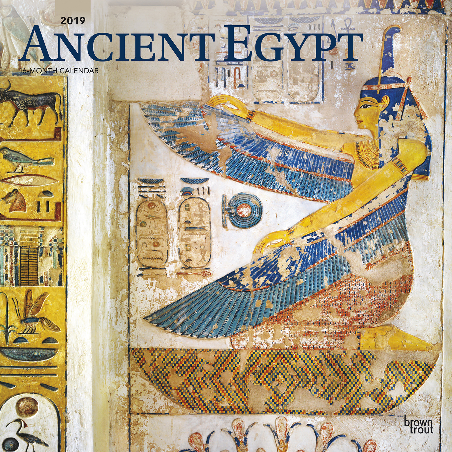 Ancient Egypt 2019 calendar