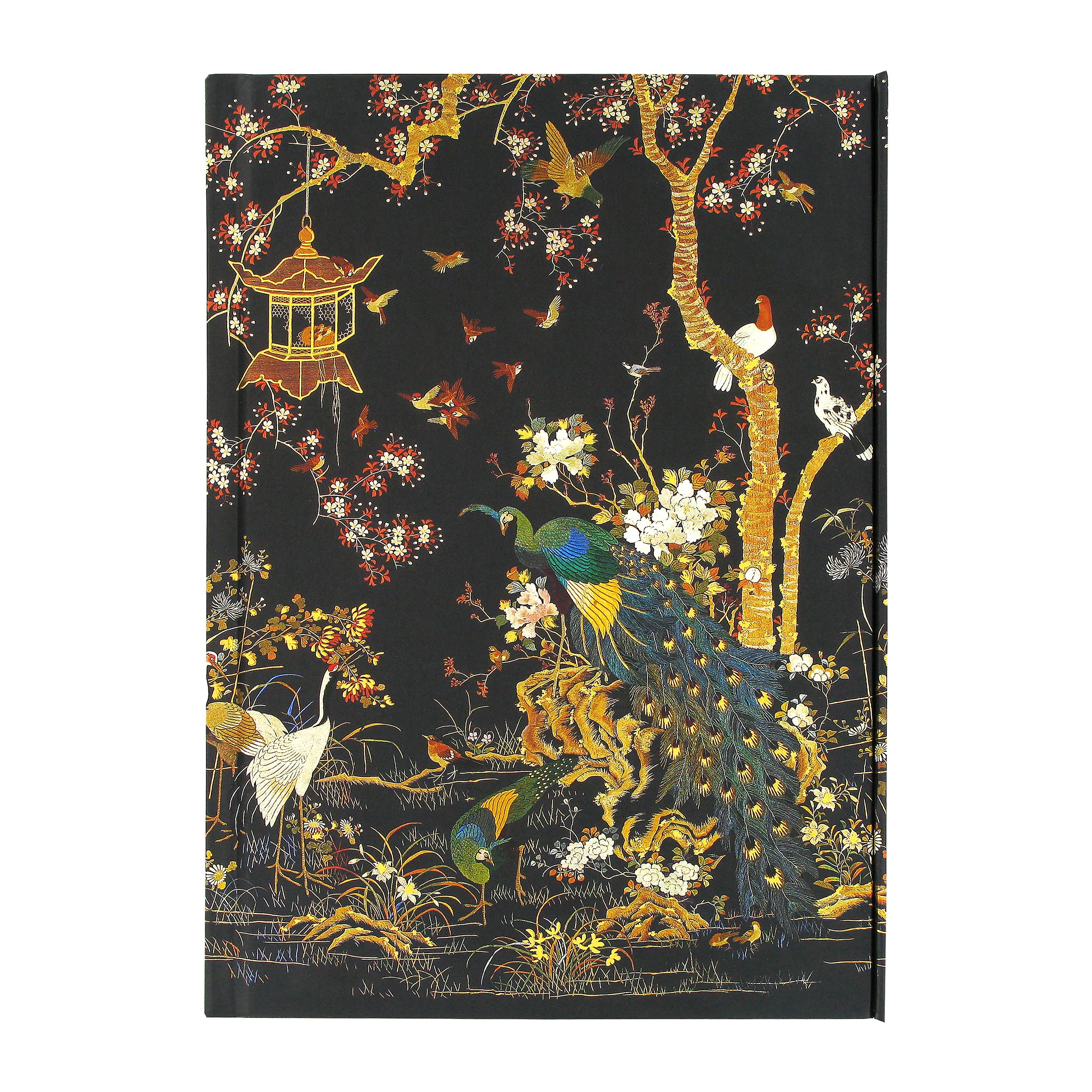 Ashmolean Museum notebook (embroidery)