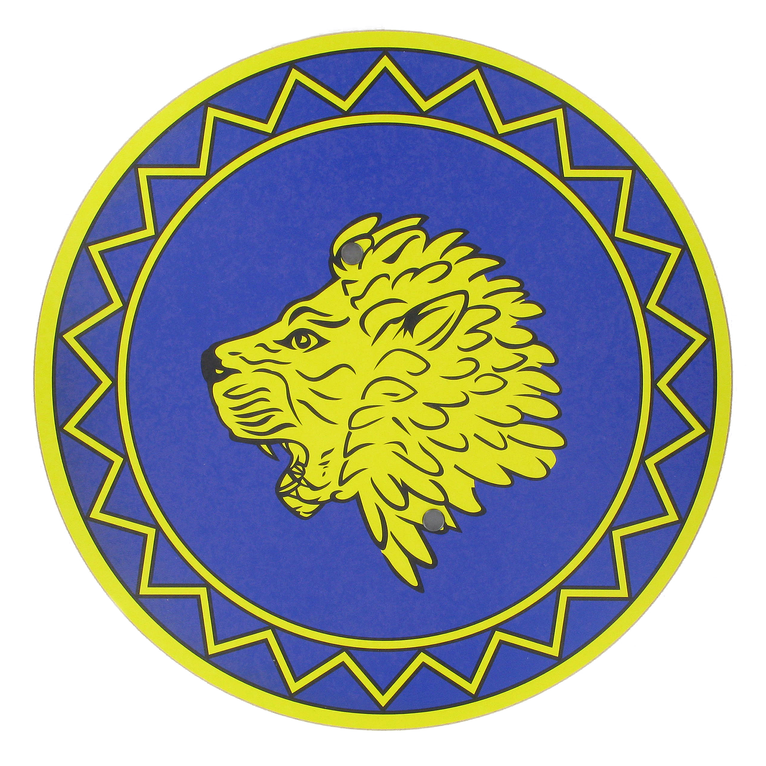 Assyrian lion shield