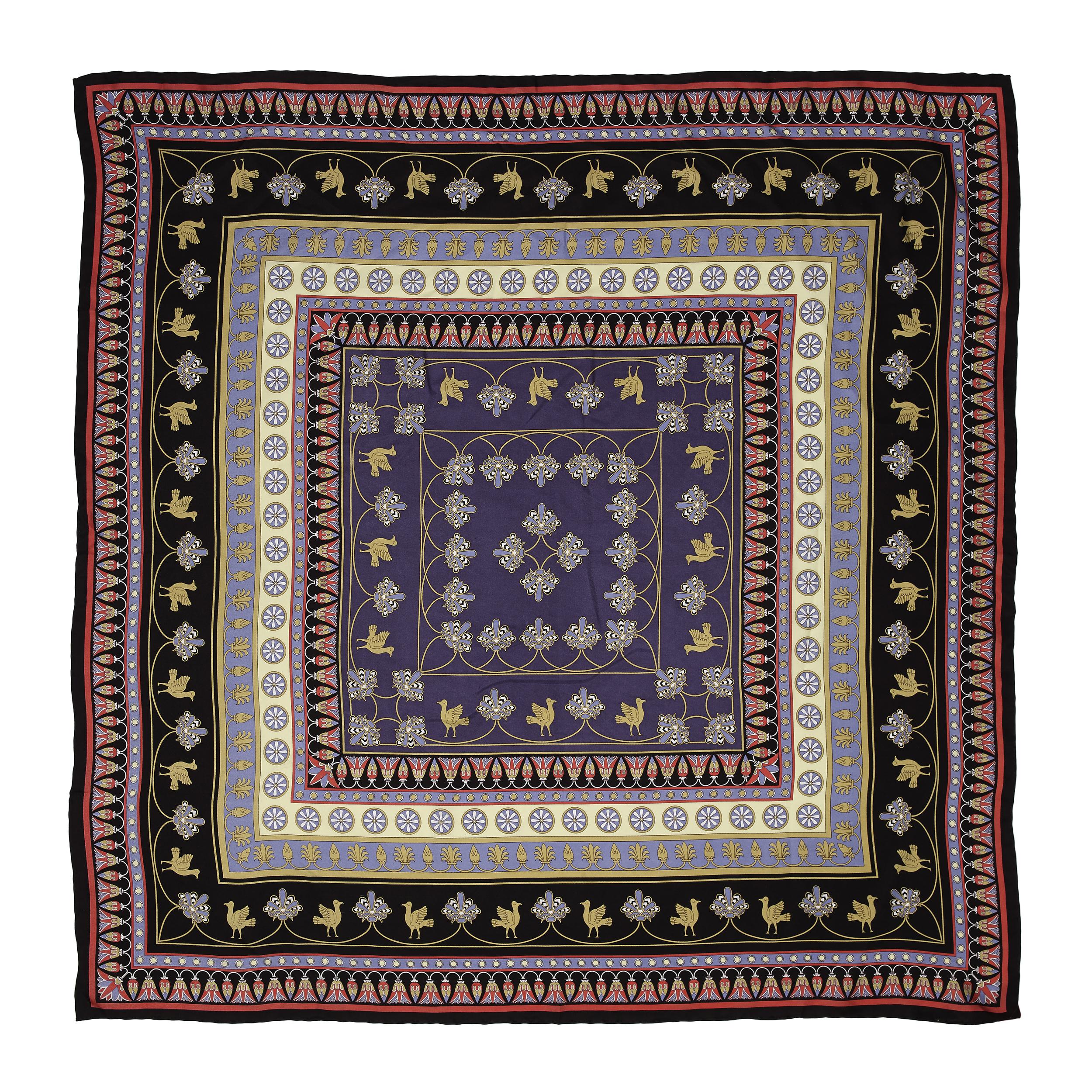 Assyrian motif scarf