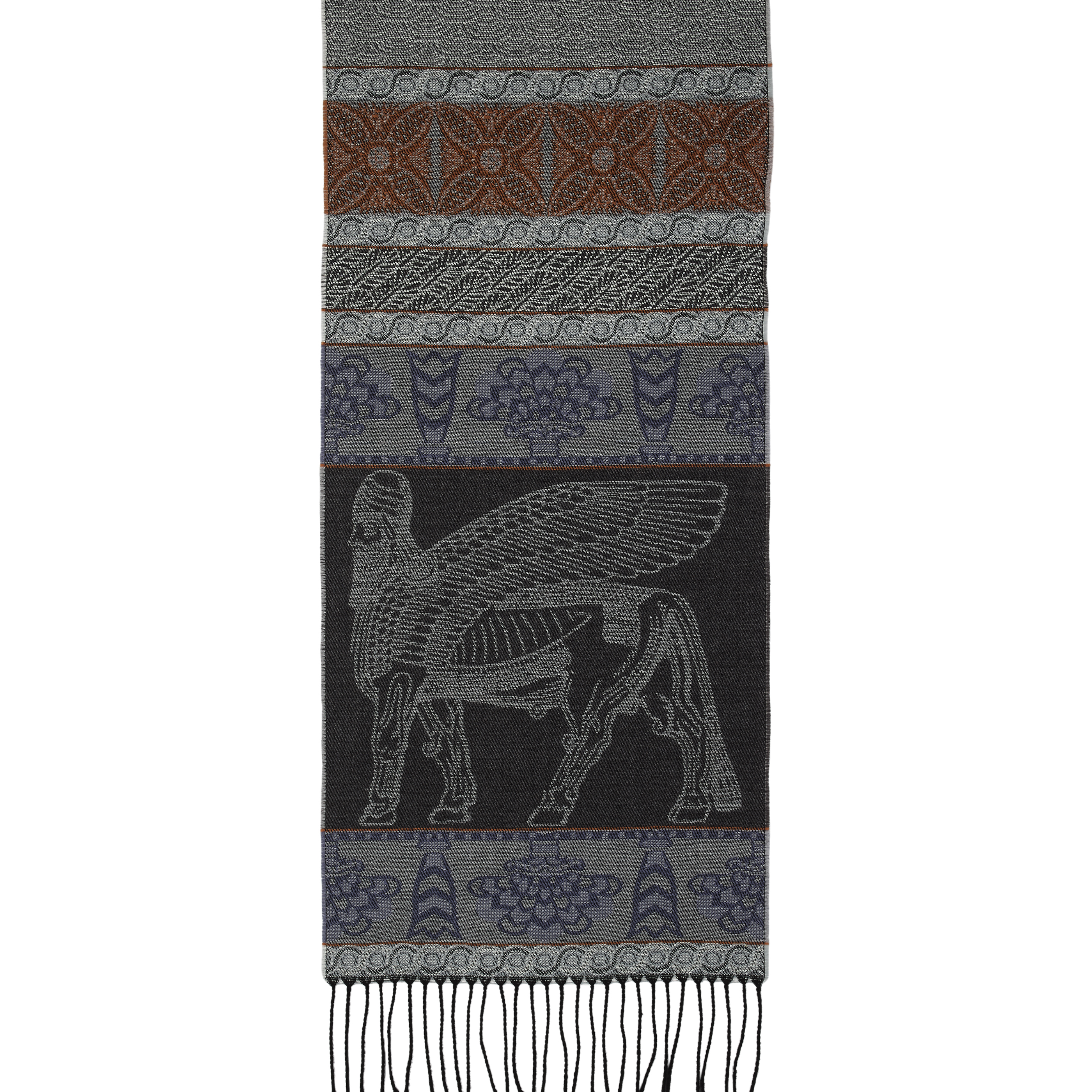Assyrian wool scarf