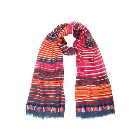 Astrid fire scarf (red)