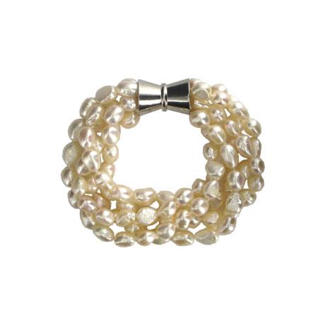 Baroque pearl bracelet