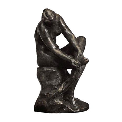 Bather bronze replica
