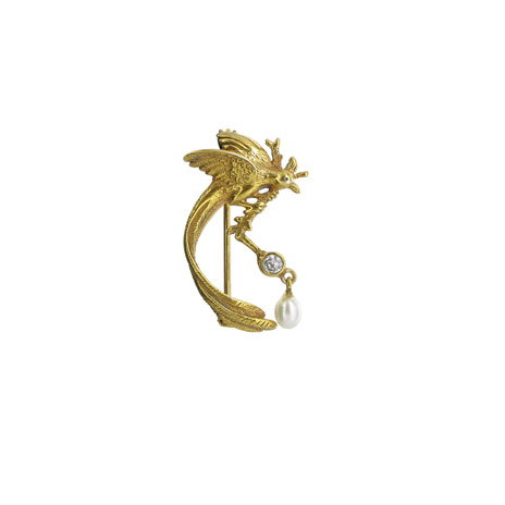 Bird of Paradise brooch (British Mu...