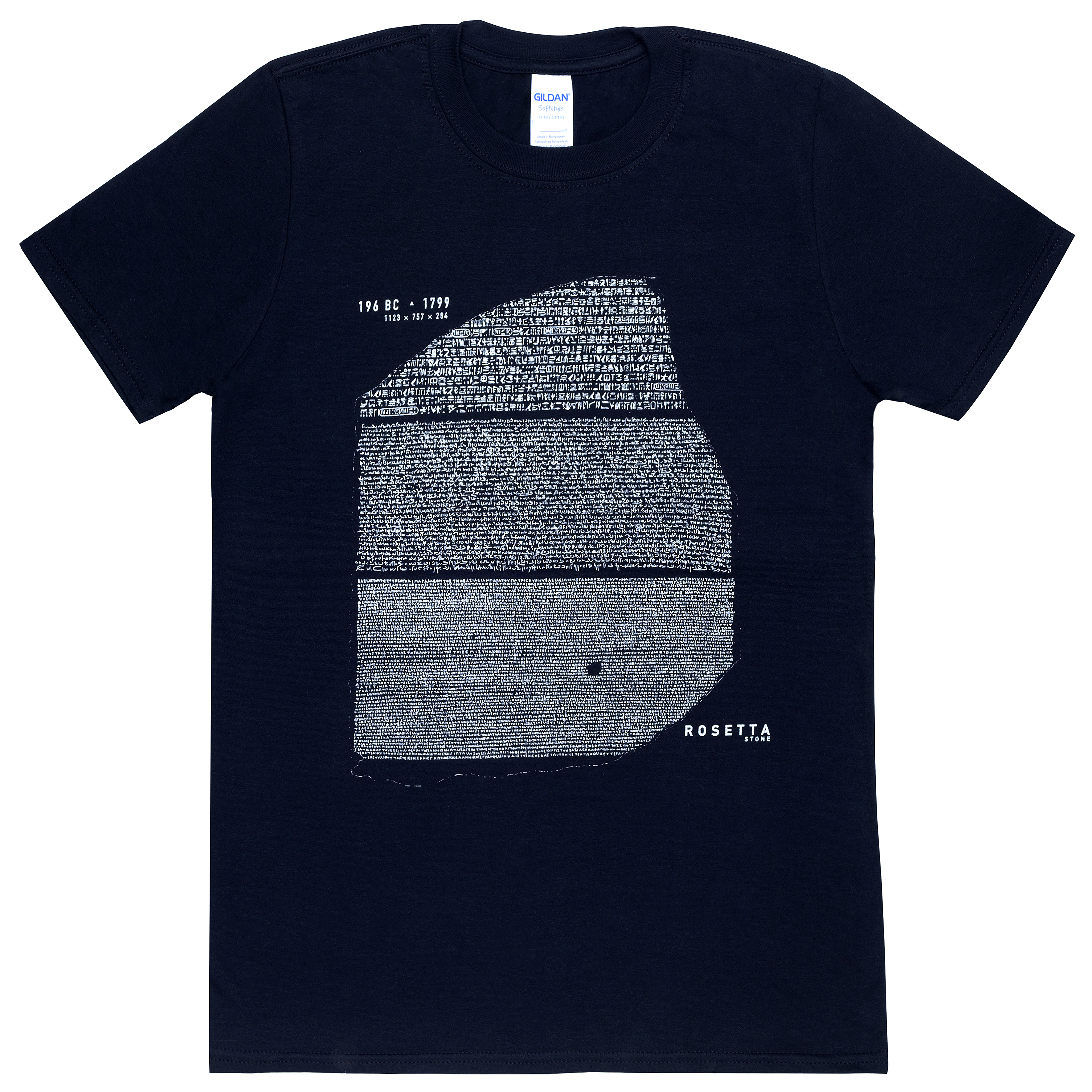 Black Rosetta Stone t-shirt (L)