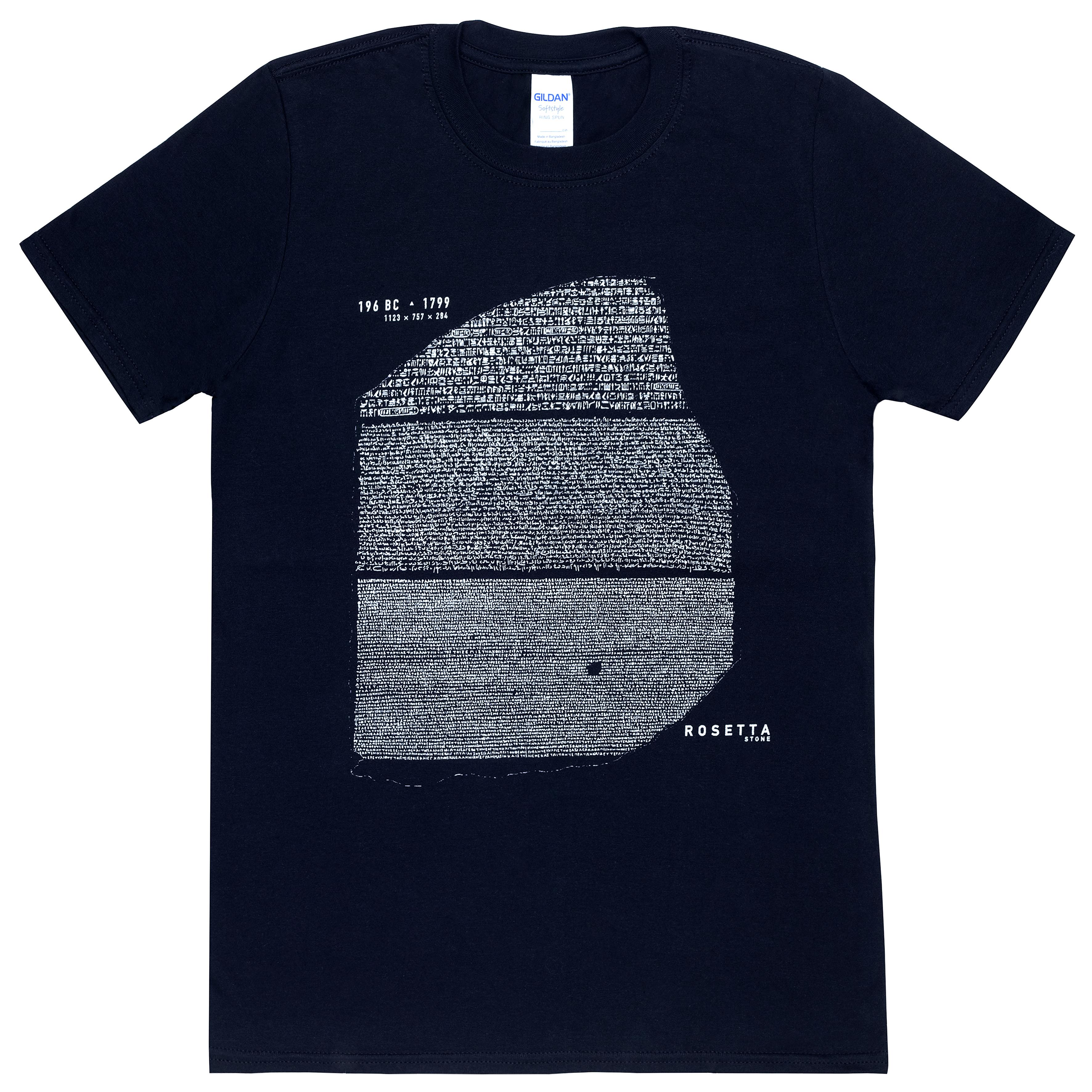 Black Rosetta Stone t-shirt (S)