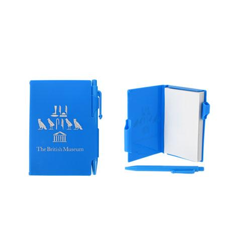 Souvenir pocket notepad - blue