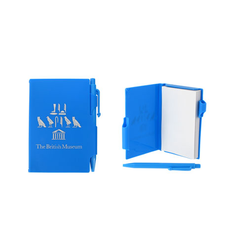 Souvenir pocket notepad - blue