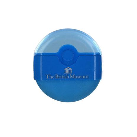 Souvenir eraser sharpener - blue