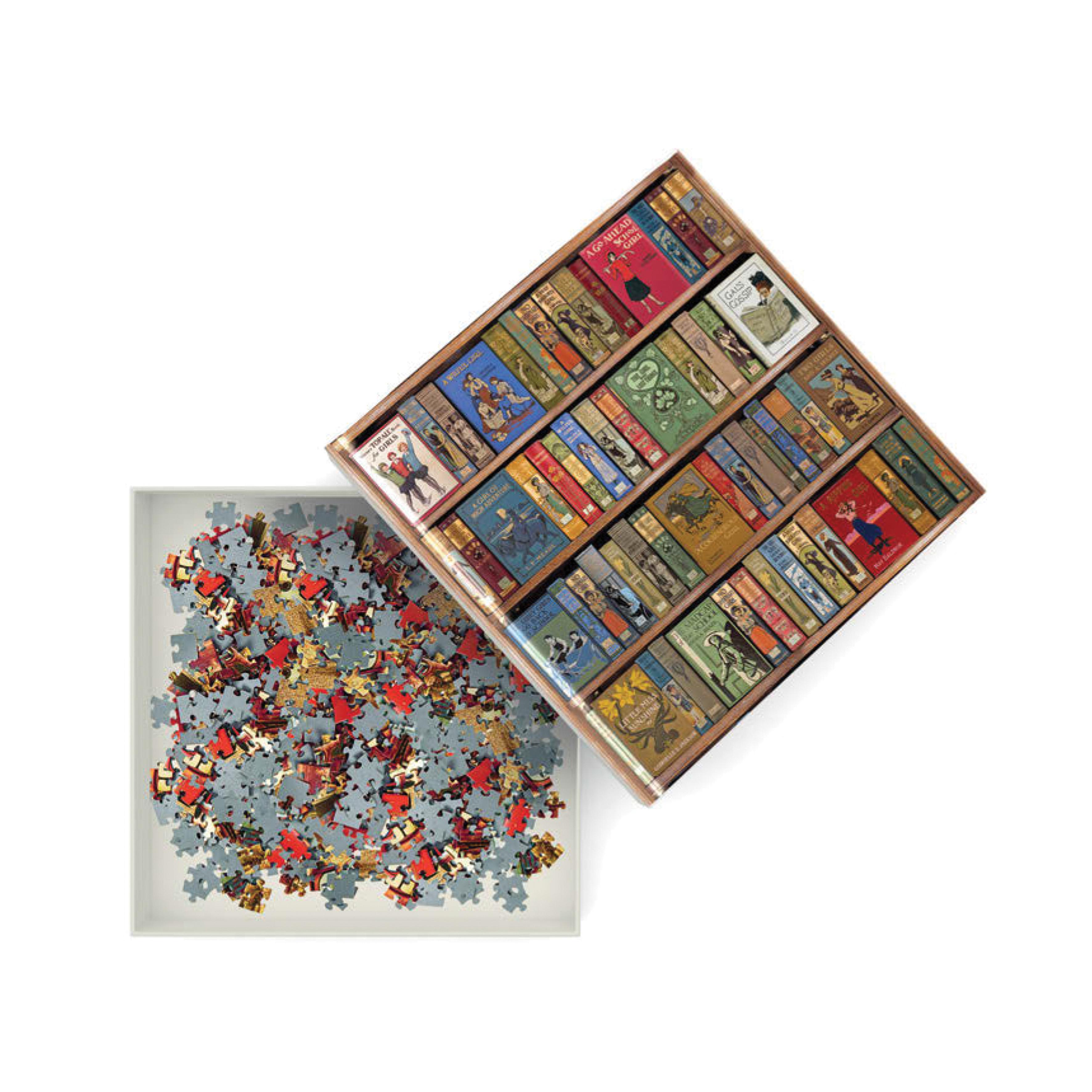Bookshelves jigsaw puzzle